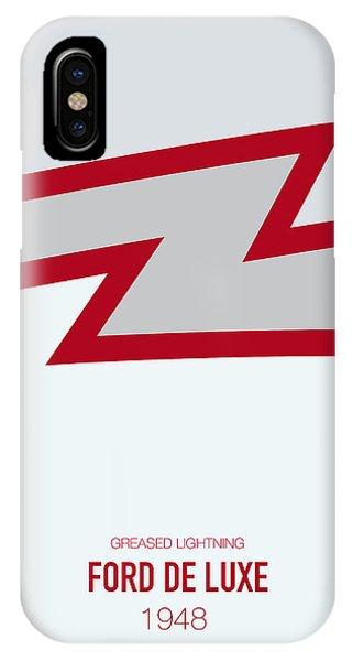 Austin iPhone Case - No022 My Grease Minimal Movie Car Poster by Chungkong Art