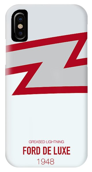 Knight iPhone Case - No022 My Grease Minimal Movie Car Poster by Chungkong Art