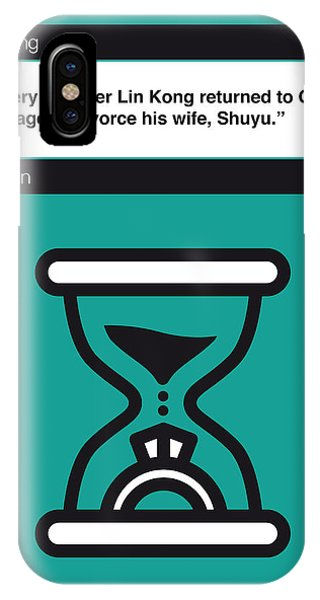 Opening iPhone Case - No029-my-waiting-book-icon-poster by Chungkong Art