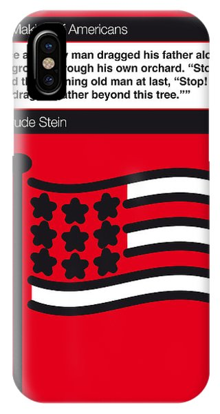 No033-my-the Making Of Americans-book-icon-poster IPhone Case