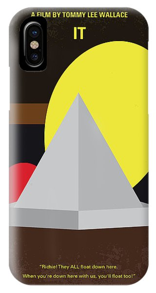 King iPhone Case - No043 My It Minimal Movie Poster by Chungkong Art
