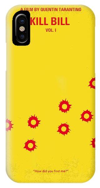 No048 My Kill Bill -part 1 Minimal Movie Poster IPhone Case
