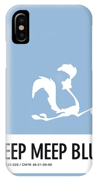 No05 My Minimal Color Code Poster Road Runner IPhone Case