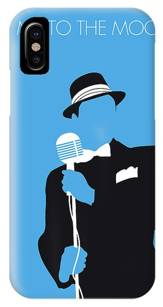 1950s iPhone Case - No059 My Sinatra Minimal Music Poster by Chungkong Art