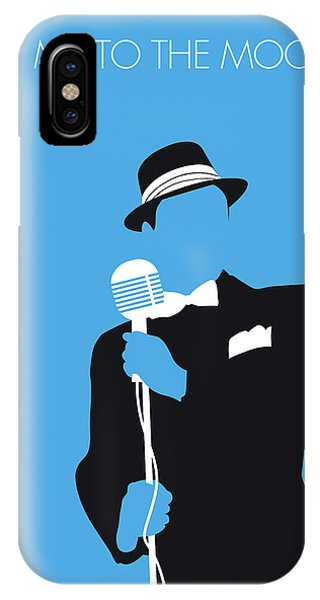 New Jersey iPhone Case - No059 My Sinatra Minimal Music Poster by Chungkong Art