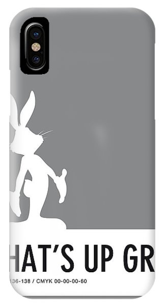 Duck iPhone Case - No06 My Minimal Color Code Poster Bugs by Chungkong Art