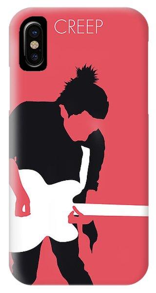 Hit iPhone Case - No062 My Radiohead Minimal Music Poster by Chungkong Art