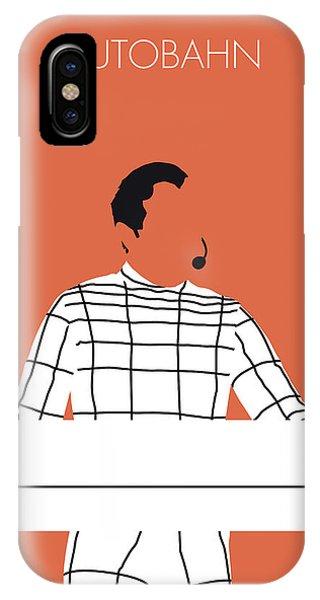 Electronic iPhone Case - No063 My Kraftwerk Minimal Music Poster by Chungkong Art