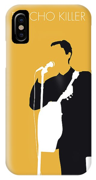 Head iPhone Case - No064 My Talking Heads Minimal Music Poster by Chungkong Art