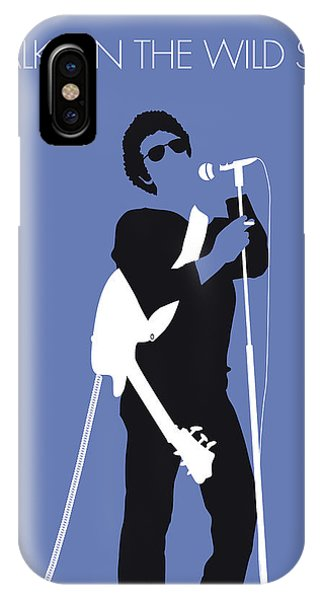 Factory iPhone Case - No068 My Lou Reed Minimal Music Poster by Chungkong Art