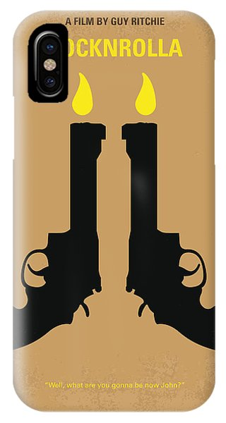 No071 My Rocknrolla Minimal Movie Poster IPhone Case