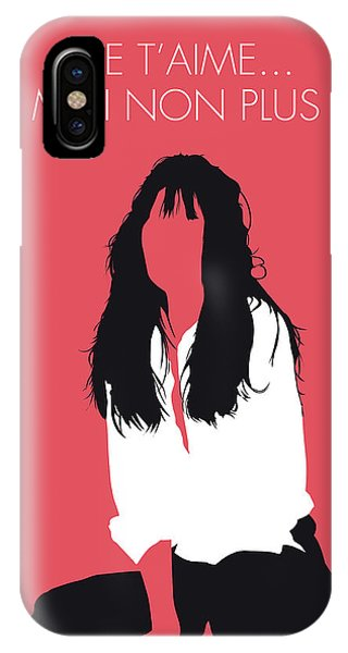 French Artist iPhone Case - No072 My Birkin Minimal Music Poster by Chungkong Art