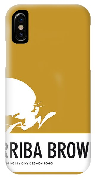 Brain iPhone Case - No08 My Minimal Color Code Poster Speedy by Chungkong Art