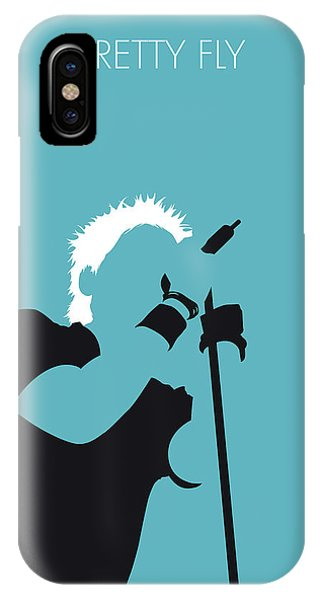 African American iPhone Case - No095 My The Offspring Minimal Music Poster by Chungkong Art