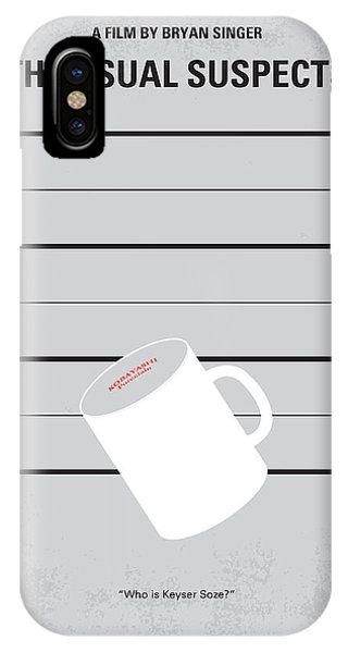 Chungkong iPhone Case - No095 My The Usual Suspects Minimal Movie Poster by Chungkong Art