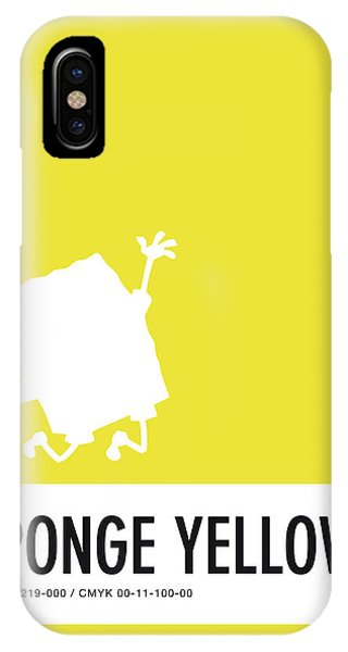 No10 My Minimal Color Code Poster Spongebob IPhone Case
