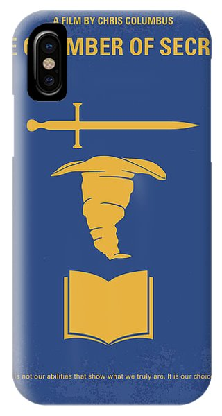 Elf iPhone Case - No101-2 My Hp - Chamber Of Secrets Minimal Movie Poster by Chungkong Art