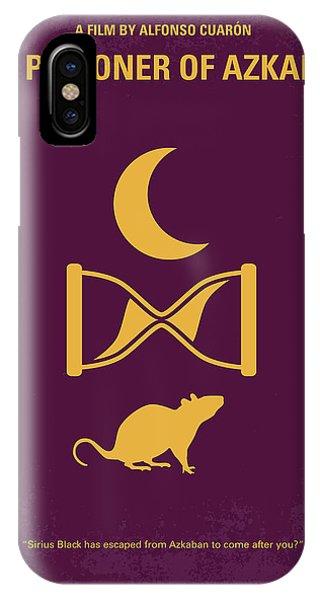 Hogwarts iPhone Case - No101-3 My Hp - Prisoner Of Azkaban Minimal Movie Poster by Chungkong Art