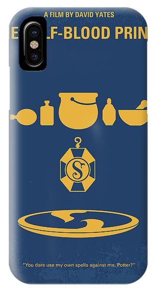 Hogwarts iPhone Case - No101-6 My Hp - Half Blood Prince Movie Poster by Chungkong Art