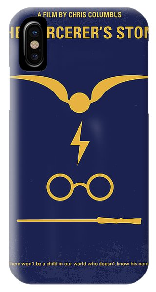 Time iPhone Case - No101 My Harry Potter Minimal Movie Poster by Chungkong Art