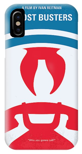 Chungkong iPhone Case - No104 My Ghostbusters Minimal Movie Poster by Chungkong Art