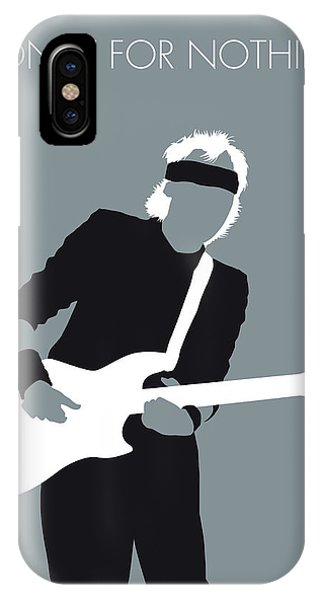 For iPhone Case - No107 My Mark Knopfler Minimal Music Poster by Chungkong Art