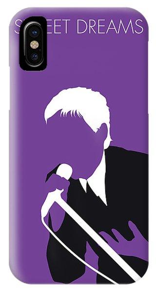 Dave iPhone Case - No111 My Eurythmics Minimal Music Poster by Chungkong Art