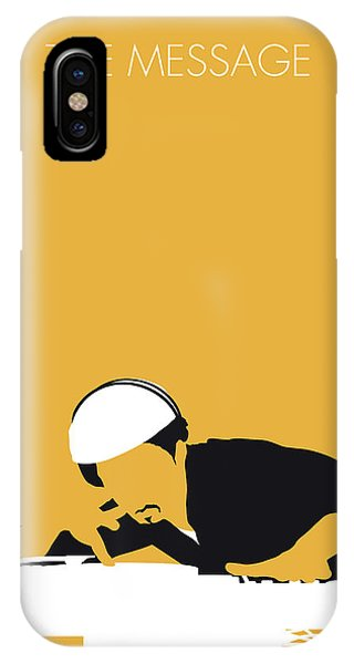 Guitar Legends iPhone Case - No114 My Grandmaster Flash Minimal Music Poster by Chungkong Art