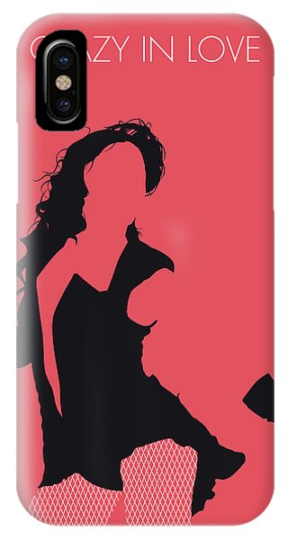 Rhythm And Blues iPhone X / XS Case - No122 My Beyonce Minimal Music Poster by Chungkong Art