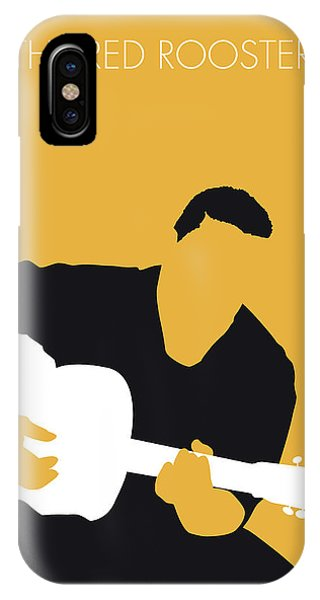 No124 My Howlin Wolf Minimal Music Poster IPhone Case
