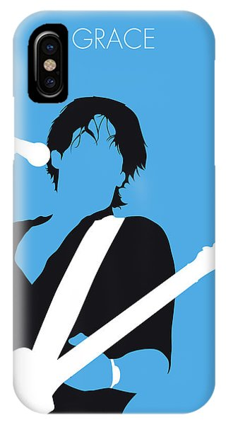 Grace iPhone X Case - No129 My Jeff Buckley Minimal Music Poster by Chungkong Art