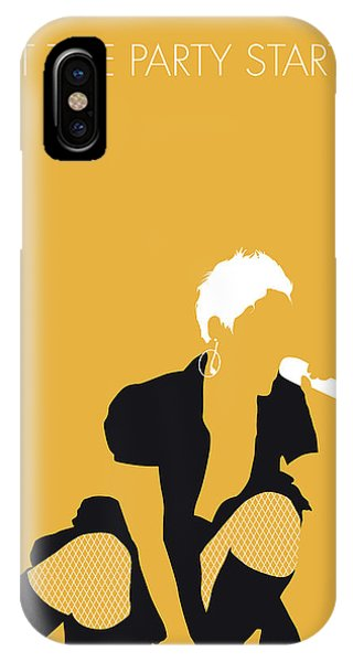 Celebration iPhone Case - No134 My Pink Minimal Music Poster by Chungkong Art