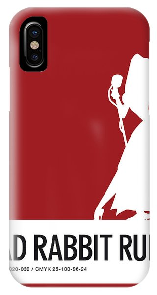 Brain iPhone Case - No14 My Minimal Color Code Poster Jessica Rabbit by Chungkong Art