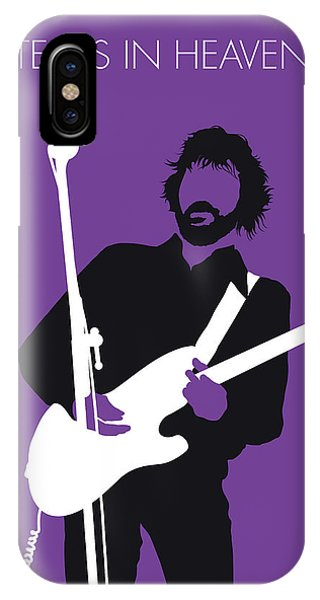 No141 My Eric Clapton Minimal Music Poster IPhone Case