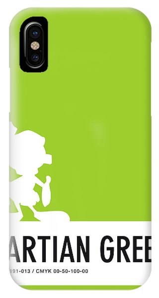 No15 My Minimal Color Code Poster Marvin IPhone Case