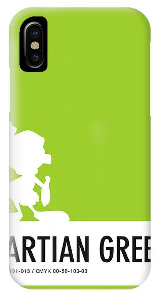 Brain iPhone Case - No15 My Minimal Color Code Poster Marvin by Chungkong Art