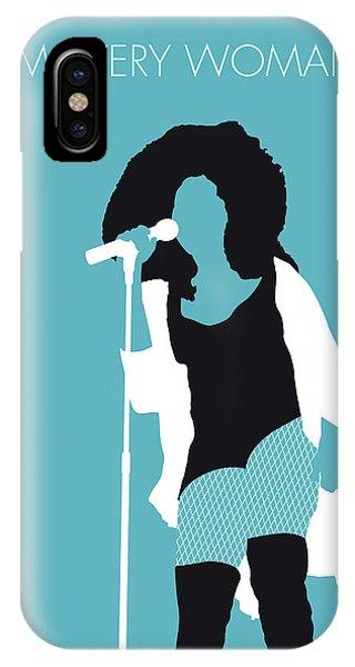 Rhythm And Blues iPhone X / XS Case - No155 My Chaka Khan Minimal Music Poster by Chungkong Art