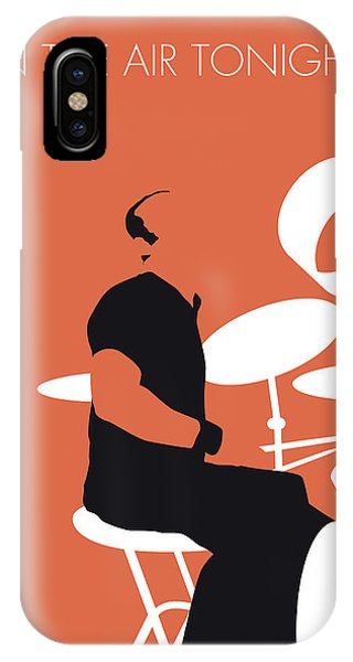 In iPhone Case - No163 My Phil Collins Minimal Music Poster by Chungkong Art