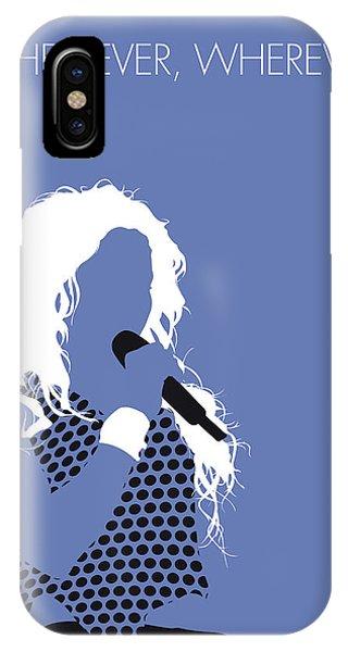 Shakira iPhone Case - No168 My Shakira Minimal Music Poster by Chungkong Art