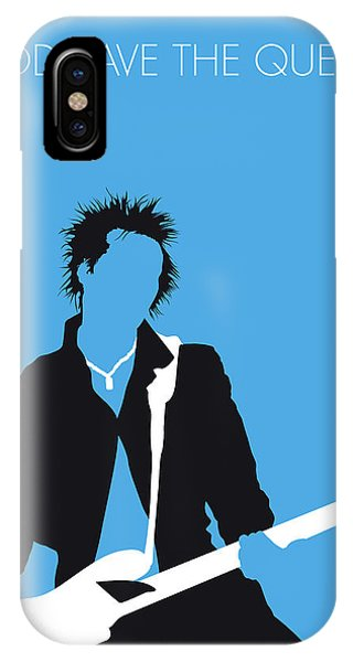 Punk Rock iPhone Case - No169 My Sex Pistols Minimal Music Poster by Chungkong Art