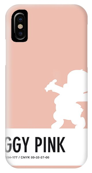 No17 My Minimal Color Code Poster Porky Pig IPhone Case