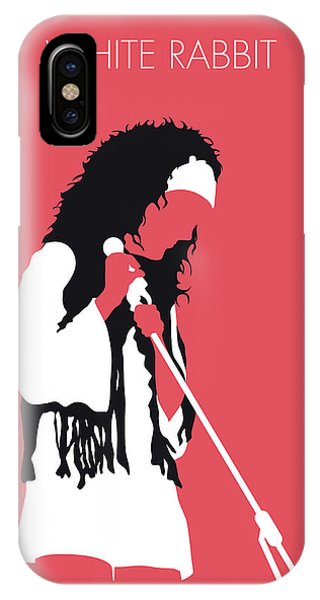 Grace iPhone X Case - No172 My Jefferson Airplane Minimal Music Poster by Chungkong Art