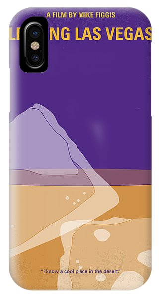Ben iPhone Case - No180 My Leaving Las Vegas Minimal Movie Poster by Chungkong Art