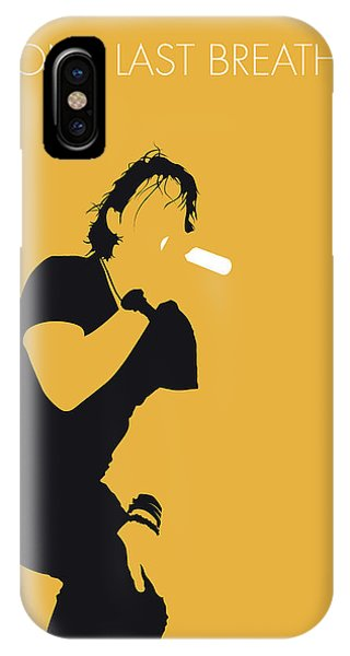One iPhone Case - No184 My Creed Minimal Music Poster by Chungkong Art