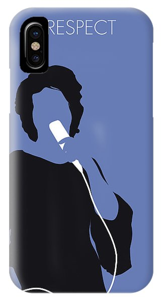 Rhythm And Blues iPhone Case - No188 My Aretha Franklin Minimal Music Poster by Chungkong Art