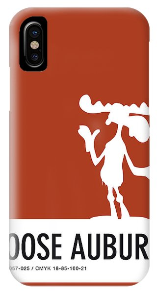 Brain iPhone Case - No19 My Minimal Color Code Poster Bullwinkle by Chungkong Art