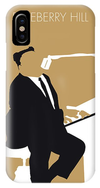 Fruit iPhone Case - No190 My Fats Domino Minimal Music Poster by Chungkong Art