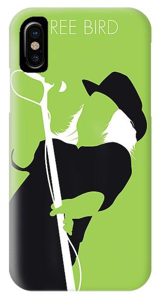 Free iPhone Case - No196 My Lynyrd Skynyrd Minimal Music Poster by Chungkong Art