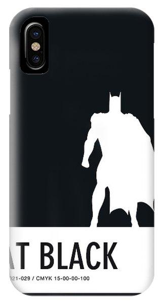Comic iPhone Case - No20 My Minimal Color Code Poster Batman by Chungkong Art