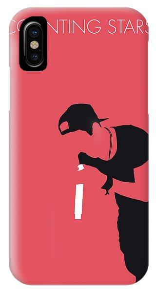Native iPhone Case - No202 My Onerepublic Minimal Music Poster by Chungkong Art